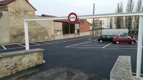 Parking commerçants