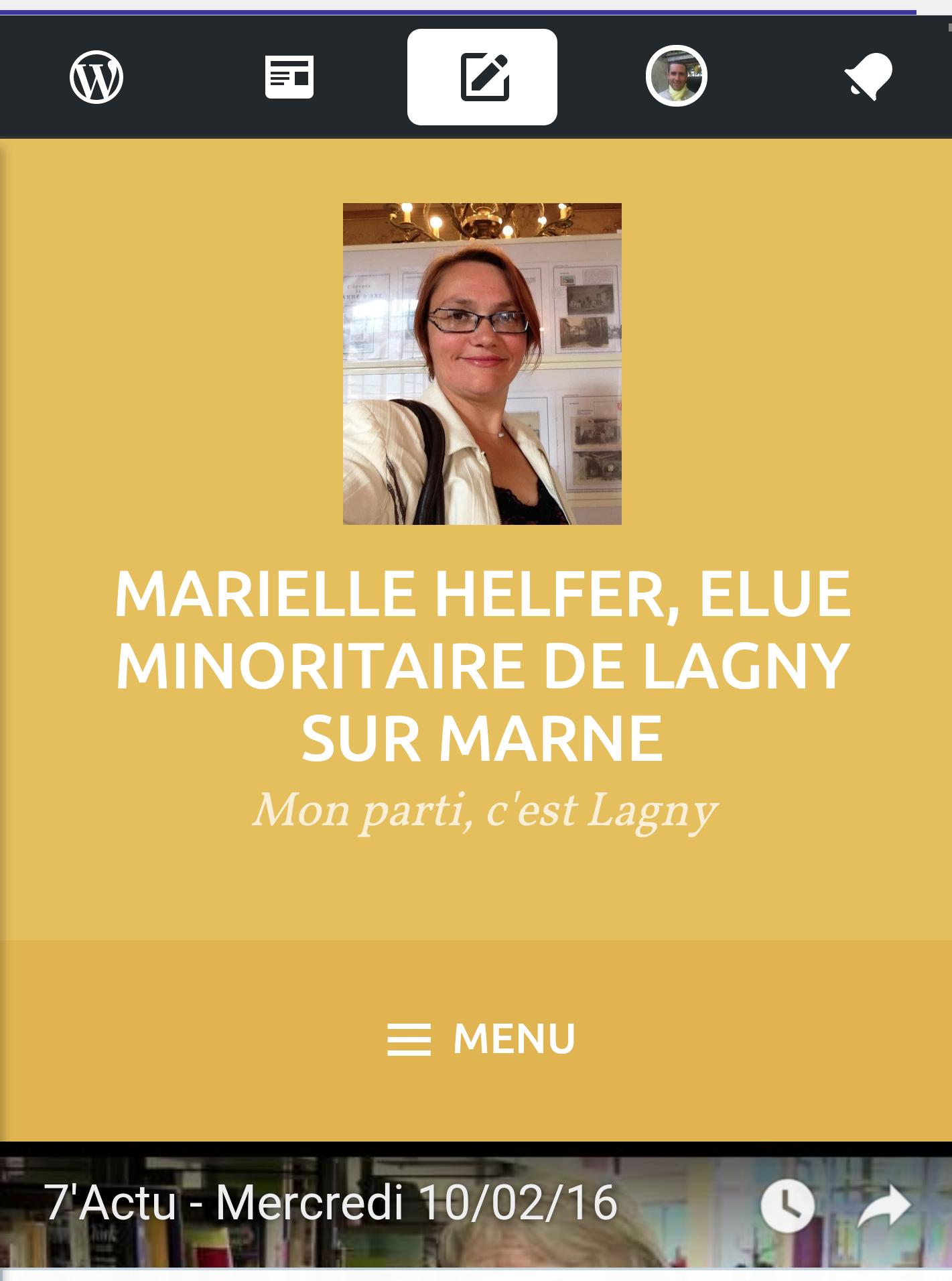 Blog de Marielle Helfer Conseillère municipale de Lagny