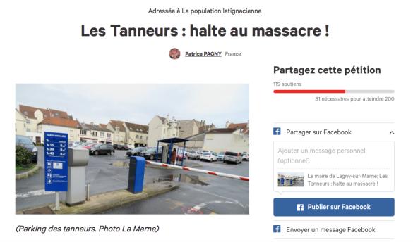 Les Tanneurs: halte au massacre!