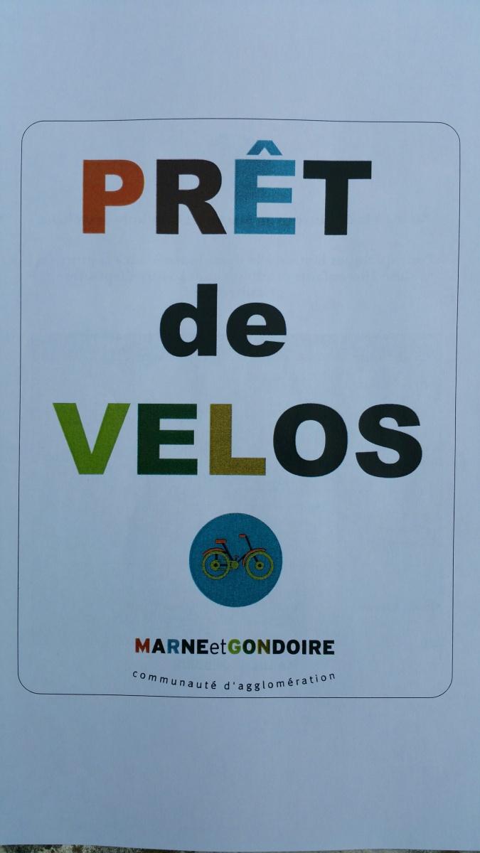 Nouveauté à Lagny: Prêt de vélos